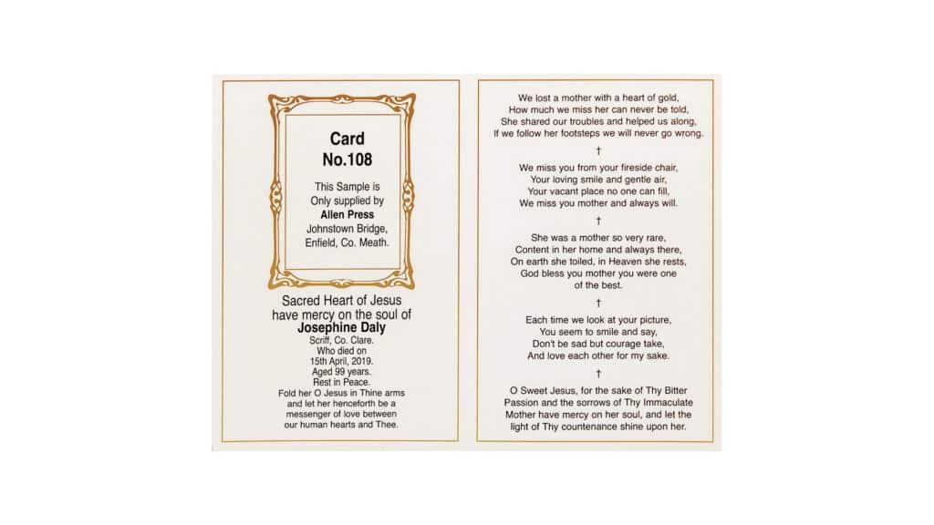 Card 108 Inner